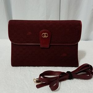 Authentic Vintage Gucci shoulder Bag & Clutch